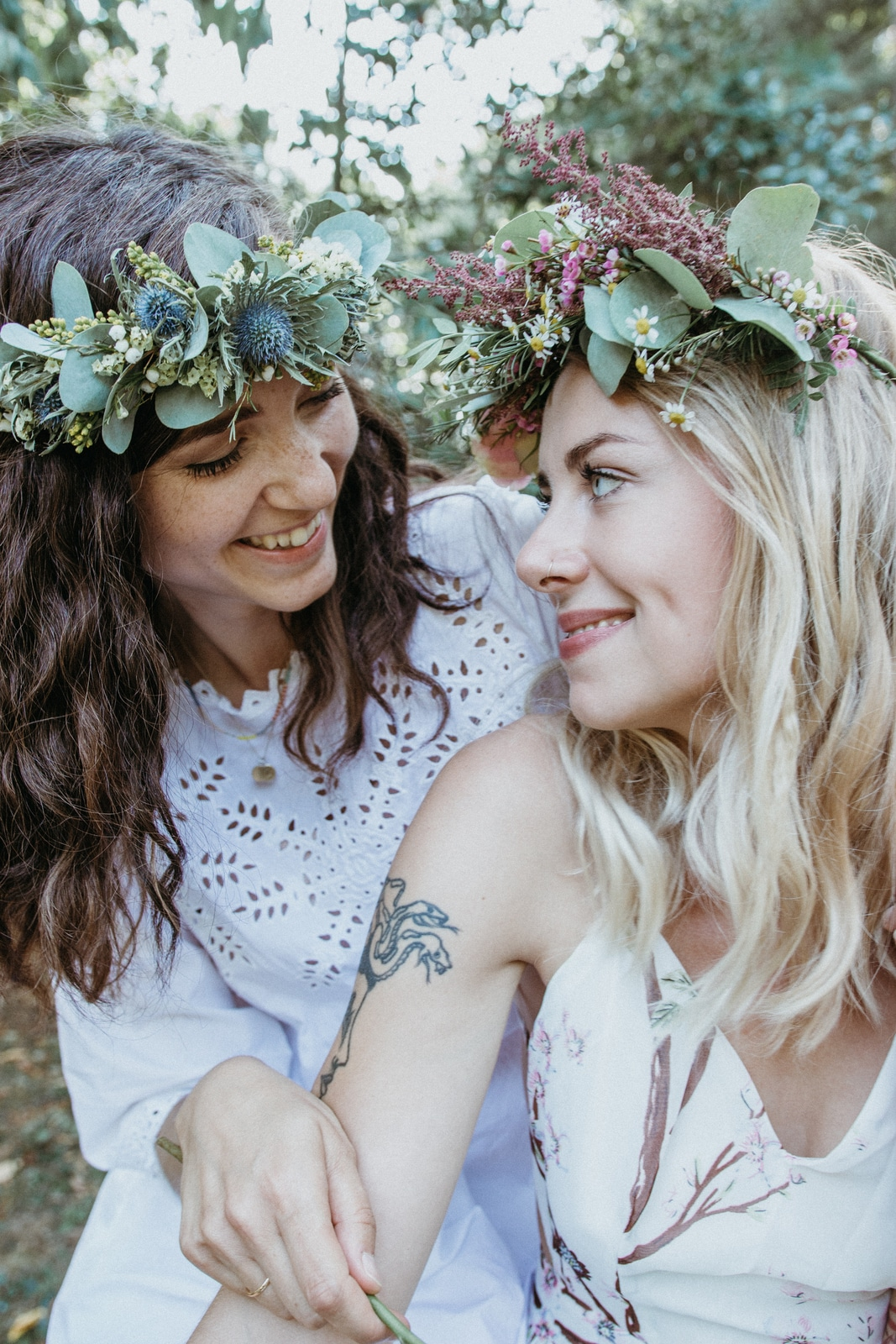 fotoshooting junggesellinnenabschied hippie picknick boho style bride to be diy workshop inspiration flowercrown blumenkranz selber machen Kurs Leipzig